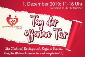 Tag der offenen Tür @ Geschäftsstelle Herzkranke Kinder e.V. Münster