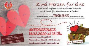 """Aktionsfinale """"Zwei Herzen für Eins"""" @ orderbase consulting (M44)"""