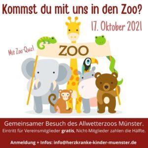 Zoobesuch Allwetterzoo @ Allwetterzoo Münster